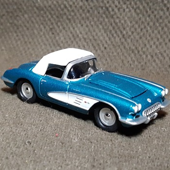 Johnny Lightning 50 Years 1958 Corvette Convertible Circa Now - Classic Cars