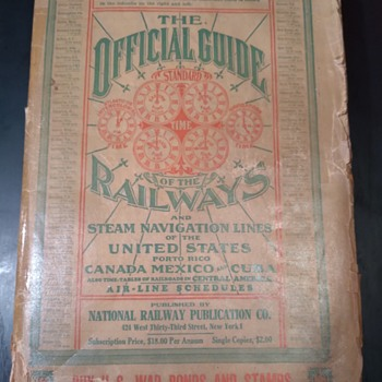 """""""THE OFFICIAL GUIDE OF THE RAILWAYS""""  (1943) - Books"""