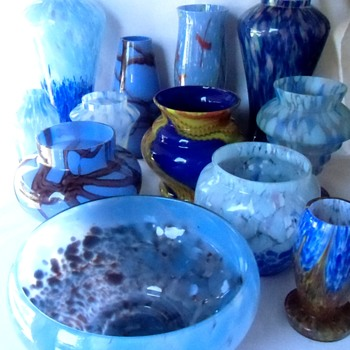 THE RUCKL BLUES..... - Art Glass