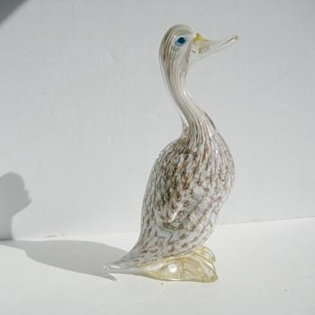 Murano goose - Art Glass