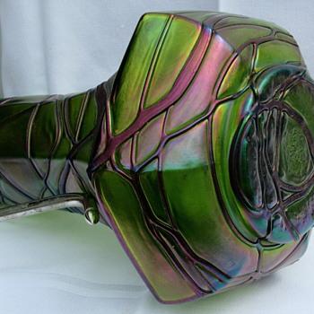 PALLME-KOENIG CLARET JUG - Art Glass