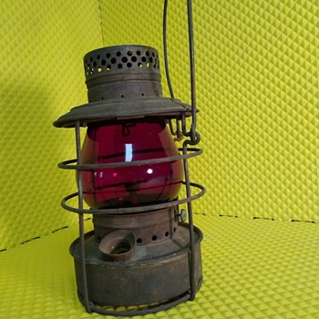 Handlan St Louis Railroad Lamp - Railroadiana