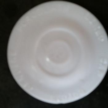 Porcelin - Glassware