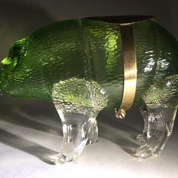 Loetz Martele Rhinoceros - Art Glass