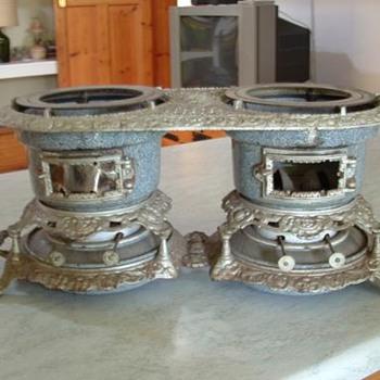 Victorian Double burner kerosene Stove