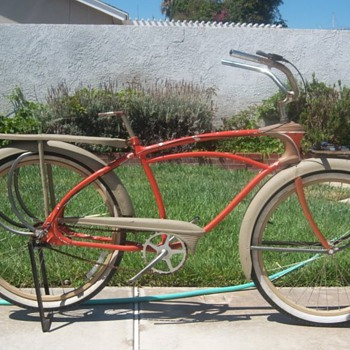 1939 to 41 Mercury Pacemaker Bicycle - Sporting Goods
