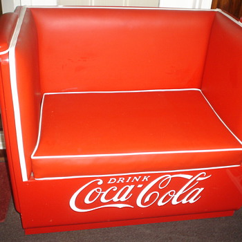 COCA COLA COUCH AND LOVESEAT - Coca-Cola