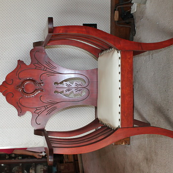 """My great-great grandmother's chair """"Devil's Throne""""?"""