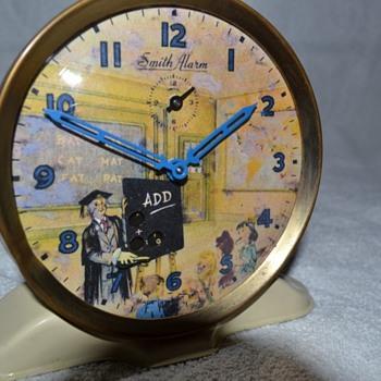 Schoolmaster - Smiths Automaton Alarm Clock - Clocks