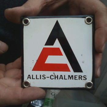Allis-Chalmers signs - Signs