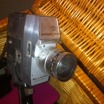 Antique Vintage Movie Camera Bell Howell