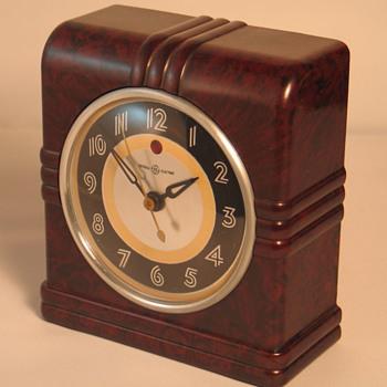 "General Electric 3H76 ""Ithaca""   - Clocks"