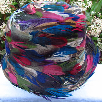 all feathered hat -  - Hats