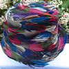 all feathered hat -