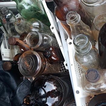 I found old bottles all  in Oregon  - Bottles