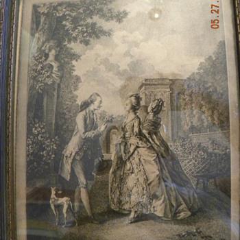 La Promenade du Soir by Ingouf - Posters and Prints
