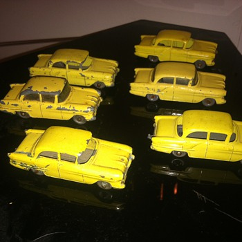 Matchbox cars from the early 60's...