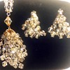 Dangly Vintage Necklace and Earring Set