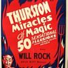 "Original 1940 Thurston ""Miracles of Magic"" Poster"