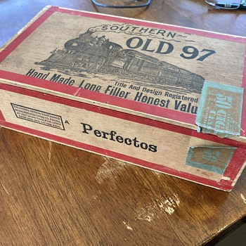Southern Old 97 5 cent Cigar Box - Tobacciana