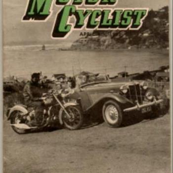 1952 - N. Z. Motor Cyclist Magazine - Paper