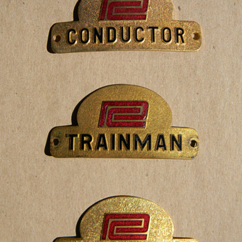 Penn Central Badges - Railroadiana