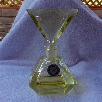 Irving Rice perfume bottle - Bottles