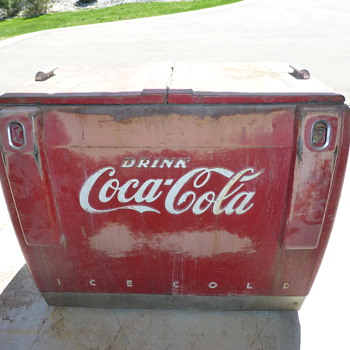 Latest Coca- Cola cooler project! - Coca-Cola
