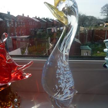 Another bird :)  - Art Glass