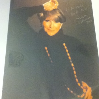 Julie Harris Autographed Still - Movies