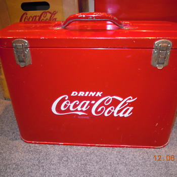 "1948-50's, Cavalier Jr., Coca-Cola ""Airline"" Cooler - Coca-Cola"