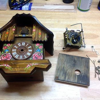 Hurbert Herr Cuckoo Clock - Clocks