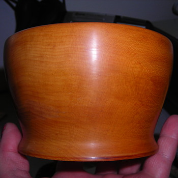 Pretty bowl, what kind of wood?? - Kitchen