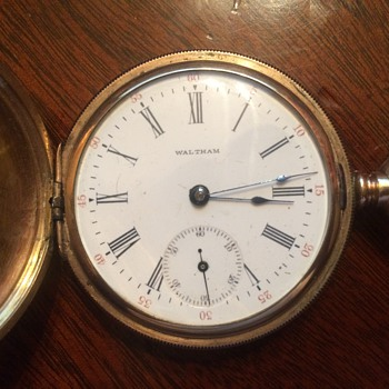 My Trusty Waltham Hunter Pocket watch from 1900: LONG Story riddled with esotericism included. You have been WARNED - Pocket Watches