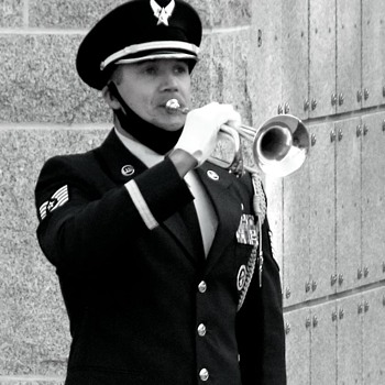 Paying respects - Military and Wartime