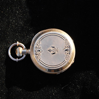 18K Gold Ladies Pocket Watch...Swiss? 1880? Maker? CWS? - Pocket Watches