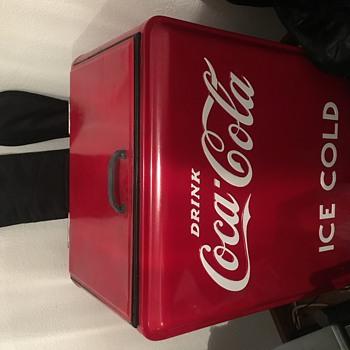 Vintage Coca-Cola cooler - Coca-Cola