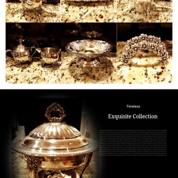 Timeless Exquisite Sterling Silver Collection - Silver