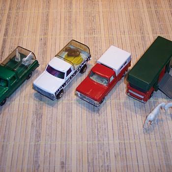 Matchbox trucks