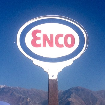 Enco Sign - Petroliana