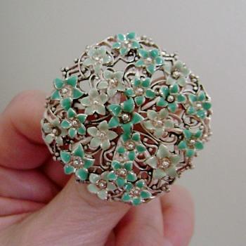 Monet Brooch - Costume Jewelry
