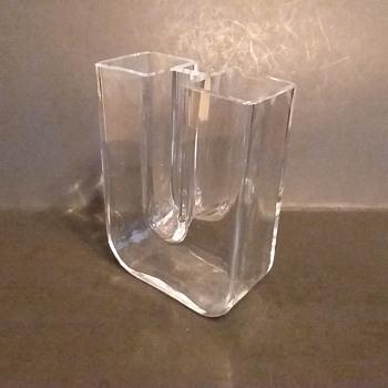 "Kosta Boda, Boda Frezia ""Twin Towers"" vase by Bertil Vallien, 1978 - Art Glass"
