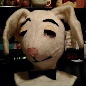 Plush Playboy Bunny head