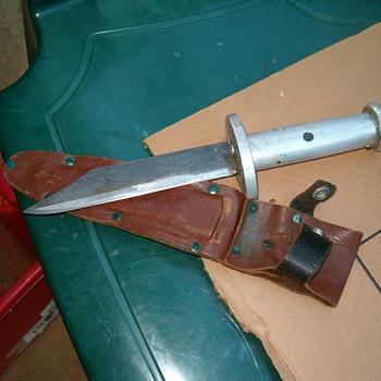 Antique Military Bayonet/Knife Dagger/Wells Fargo Dagger