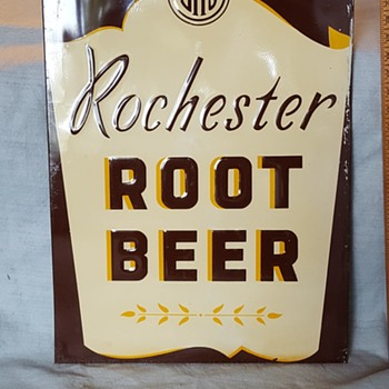 Rochester Root Beer Sign - Advertising