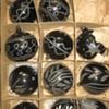 Vintage German Black tree ornaments