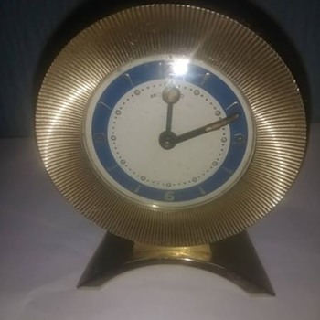 I do like my Vintage mid century mechanical alarm clocks, This is a charmer, with a disappointing name Arctos Expo, - Clocks