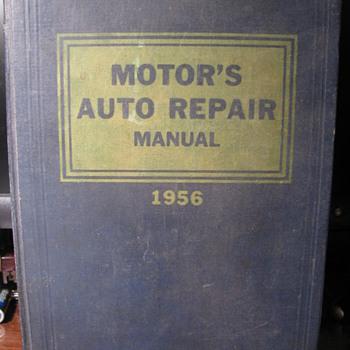 1956 Motor's Auto Repair Manual