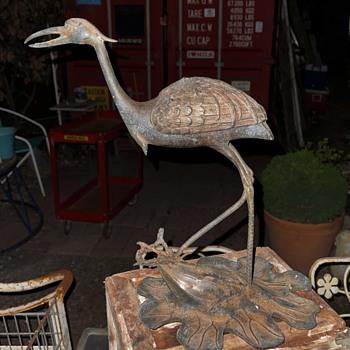 Medium-sized Garden Crane - Animals