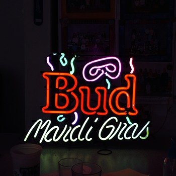 My new bud sign